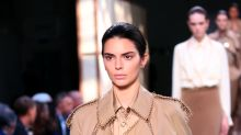 Kendall Jenner emerges from her fashion week drought to walk in Burberry show