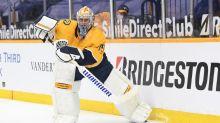 Predators G Pekka Rinne wins NHL's humanitarian award