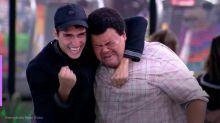 Babu Santana e Felipe Prior se reencontram pela primeira vez após BBB