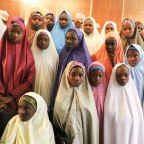 Nigeria's Buhari meets with Dapchi girls