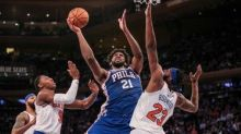 Here's the Knicks' full first half schedule, including MSG opener against 76ers