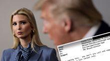 'Vindictive': Ivanka Trump explodes over five-hour testimony