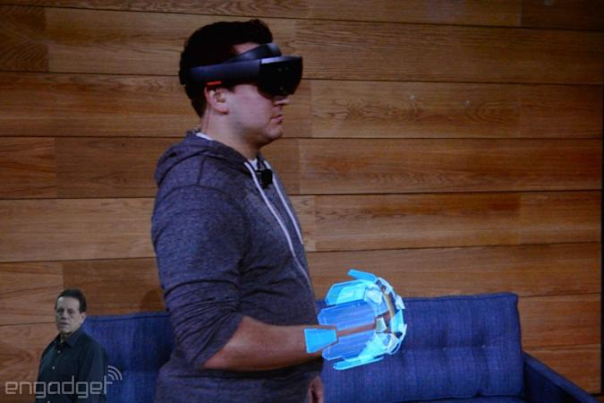 Microsoft HoloLens reaches developers in early 2016 for $3,000