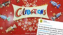 'Ruined Christmas': Backlash over 'cruel' Celebrations advent calendar joke