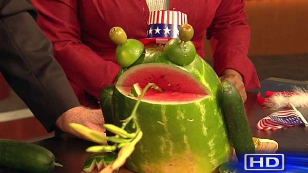 Don Nelson's Memorial Day frog!