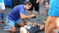 Dr. Oz Comes to the Rescue of Salt Lake City 5K Runner.