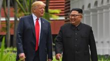 Trump says Kim Jong-un 'speaks and his people sit up in attention. I want my people to do the same'