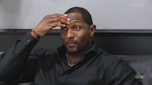 An emotional Ray Lewis forced to drop out of 'Dancing With the Stars' with injury