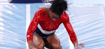 Olympic stunner: Simone Biles out of team final event
