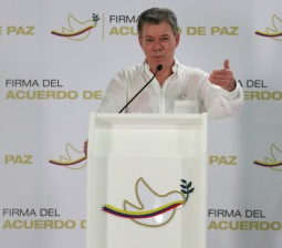 Colombia, Marxist rebels to sign accord ending 52-year war