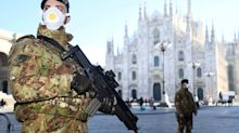 Italy put 12 towns on coronavirus lockdown after 215 cases and 5 deaths made it the most infected country outside Asia