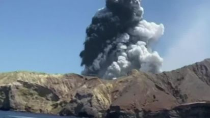 New Zealand volcano: 'At least one Briton missing'