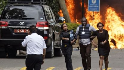 15 killed, including American, in Kenya hotel attack