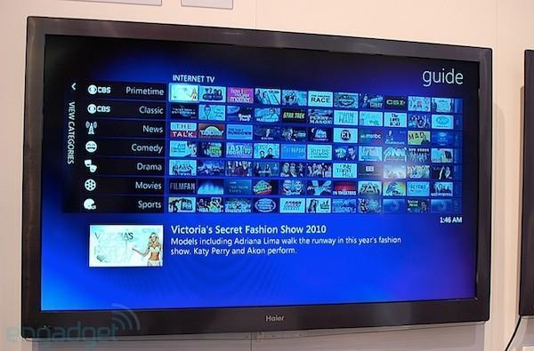 Windows 7 Media Center embedded TV hands-on