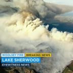 Woolsey Fire: Firefighters respond to flare-up in Lake Sherwood area amid blaze of 96,314 acres