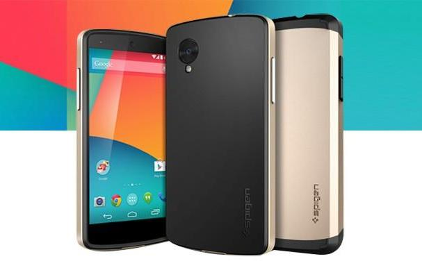 Engadget Giveaway: win one of two Nexus 5 smartphones courtesy of Spigen!
