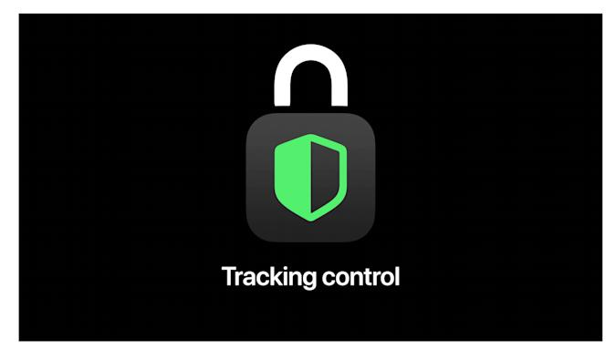 Apple tracking control