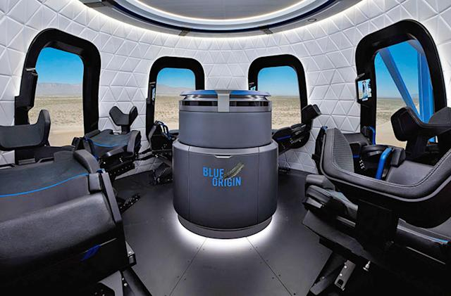 Blue Origin will take you on a (simulated) space ride at Oshkosh