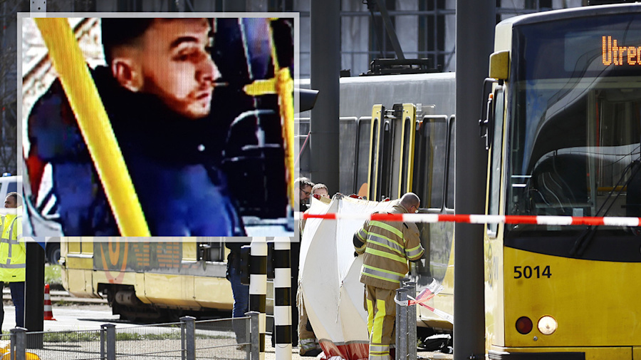 Hunt on for man who opened fire on Utrecht tram