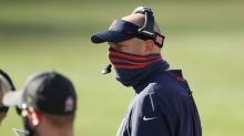 Matt Nagy isn't worried about his job security after Week 12 loss to Packers