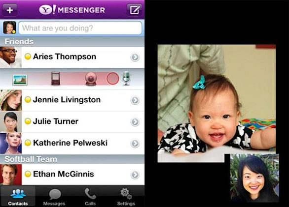 Updated Yahoo Messenger app now live in App Store, 3G video calling bonanza awaits you