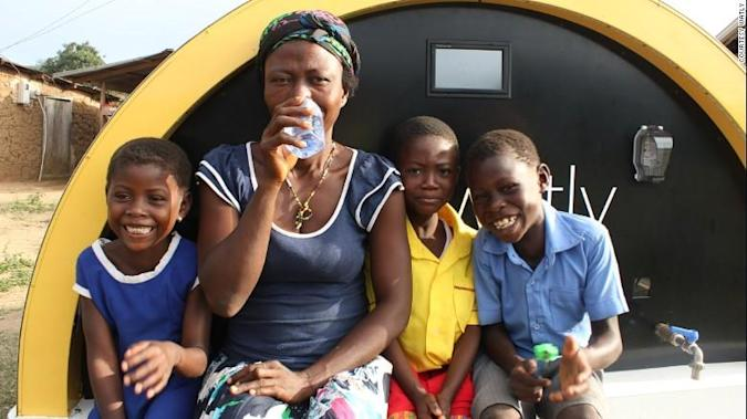The Hi Tech of Pure Solar: Watly, providing clean water, Internet access and energy with solar power