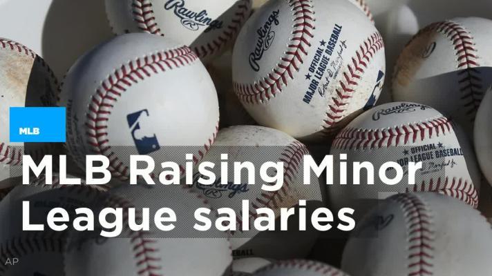 Increasing minor league salaries