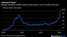Morgan Stanley Sees the Wealthy Sticking With Cash
