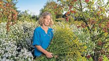 How to create a cutting garden that's no-plastic and low on weeding