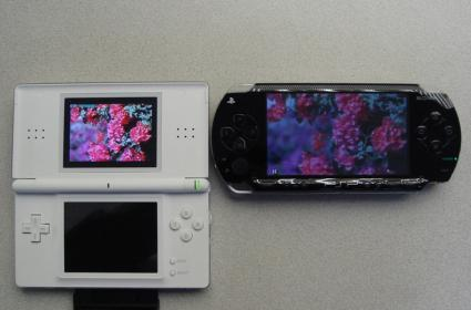 DS versus PSP: the battle for the best LCD