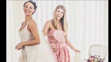 Famosas arrasam no casamento de Isis Valverde
