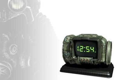 Real life Pip-Boy or wacky geek clock? You decide