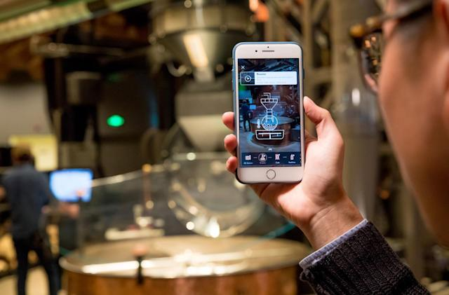 Starbucks offers AR tours of its lavish Shanghai coffee shop