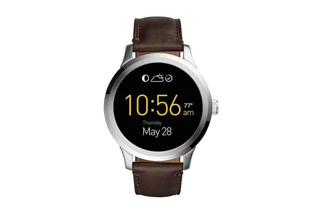 Fossil launches its Android Wear watch and a slew of activity trackers