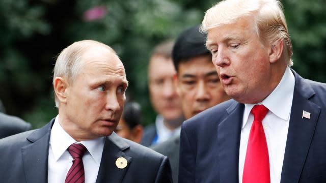 Vladimir Putin Sends President Trump A Telegram Wishing Him A Speedy Recovery