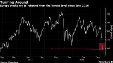 European Stocks Gain on Earnings as Spanish Banks Sink on Ruling