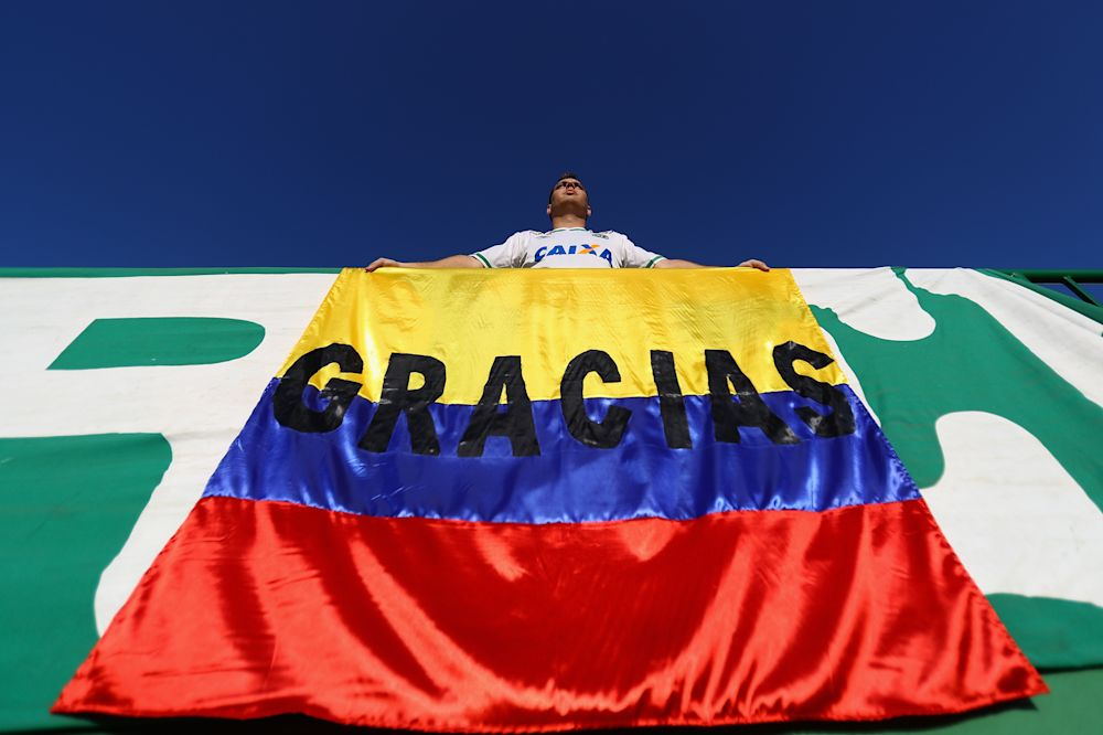 Chapecoense se solidariza con la tragedia en Colombia