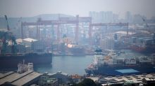 South Korea to combine world's two biggest shipbuilders in $2 billion deal