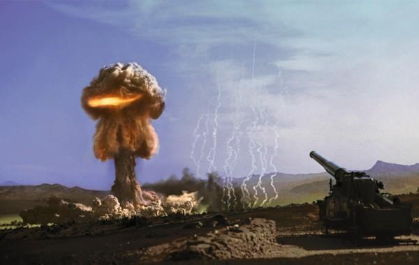 Atomic bomb tests make for pretty, if unnerving, photography