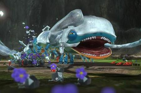 Pikmin 3 lacking online multiplayer because ... there are a bunch of Pikmin