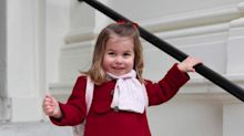Princess Charlotte Looks Adorable on Her First Day of Nursery School