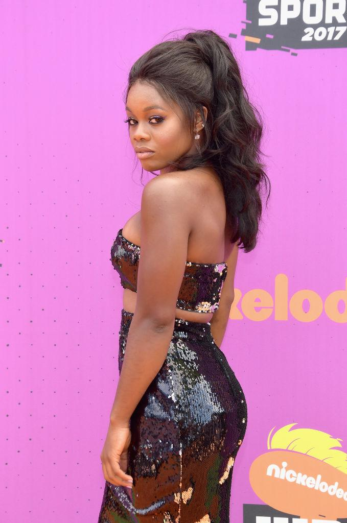 Gabby Douglas Is So Not One Of The Kids At The Kids