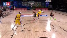 Mason Plumlee with a dunk vs the Los Angeles Lakers