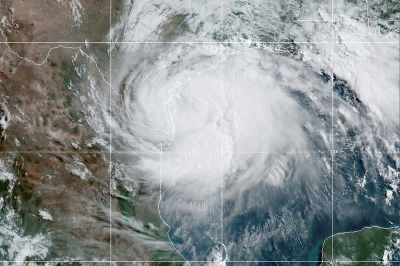 Satellite image of Hurricane Douglas