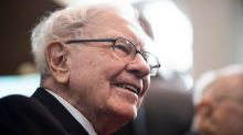 Warren Buffett is 'almost certain' that stocks will beat bonds over time if rates stay low