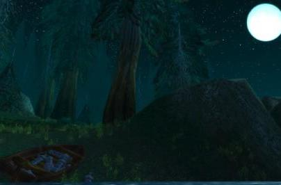Around Azeroth: Moonlight over Lordamere Lake