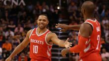 Rockets topple Timberwolves, Cavaliers hold on to edge Magic