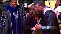Slain UMKC student honored at commencement ceremony