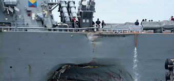 Navy orders probe into Pacific fleet after collisions