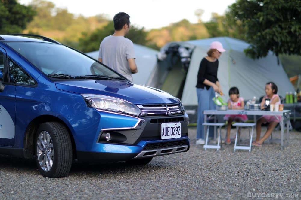 第一次露營就上手! Mitsubishi Colt Plus超值好時光露營節登場